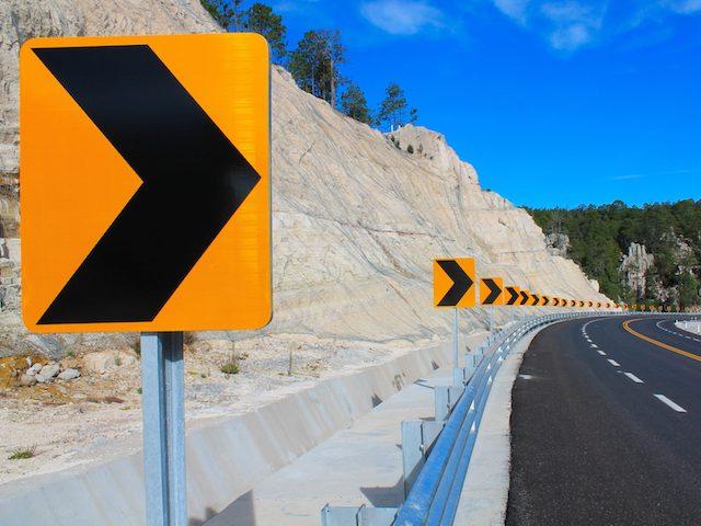 SUCAP Road Runner mountain road curve