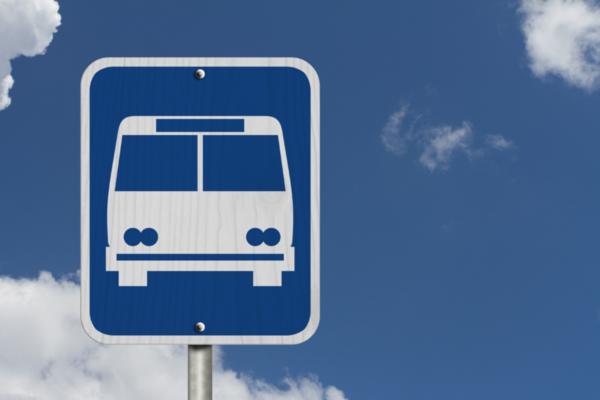 SUCAP Road Runner bus sign